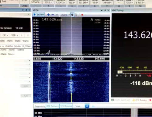 Radiosignaali kansainväliseltä avaruusasemalta 19.11.2016