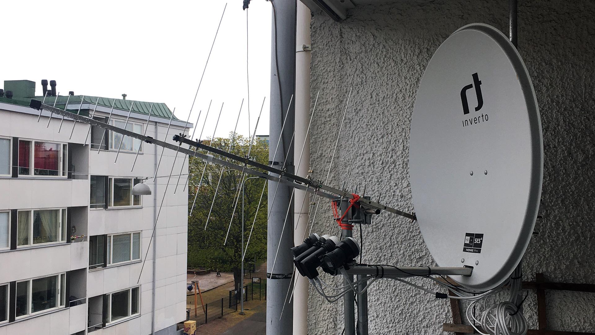 VHF/UHF/SAT antennas